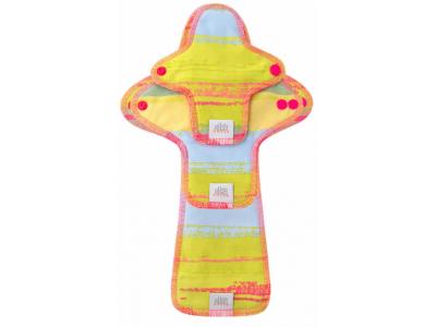 Ella´s House TRIAL SET Hygienické dámské vložky (3ks) - Jungle Pink