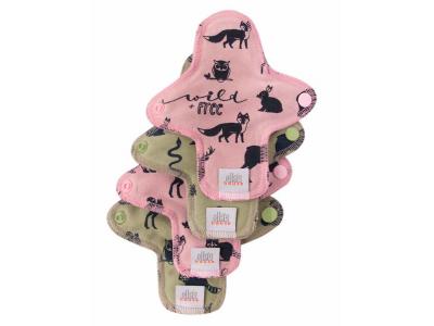 Ella´s House Hygienické dámské vložky (4ks) MINI - Wildlife