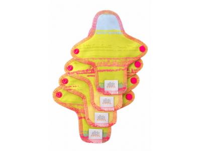 Ella´s House Hygienické dámské vložky (4ks) MINI - Jungle pink