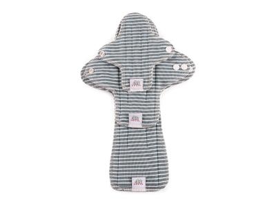 Ella´s House TRIAL SET Hygienické dámské vložky (3ks) - Stripes Blue