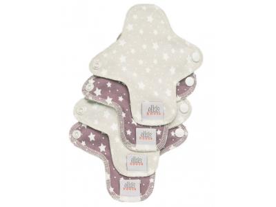 Ella´s House Hygienické dámské vložky (4ks) MINI - Stars
