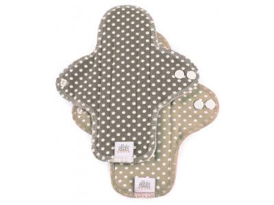 Ella´s House Hygienické dámské vložky (2ks) MIDI - Dots brown