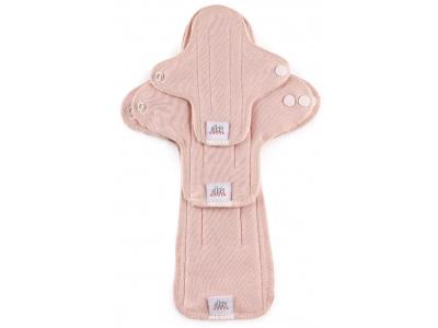 Ella´s House TRIAL SET Hygienické dámské vložky (3ks) - Plain pink