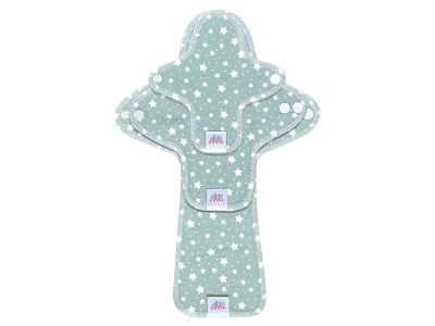 Ella´s House TRIAL SET Hygienické dámské vložky (3ks) - Stars Cloud Blue