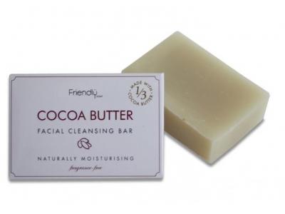 Friendly Soap přírodní mýdlo na čištění obličeje s kakaovým máslem