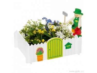 Goki Zahradník se zahrádkou