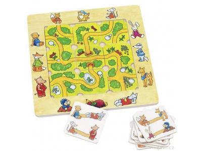 Goki Stolní hra - Najdi cestu