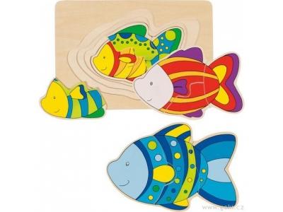 Goki Vícevrstvé puzzle – Ryba
