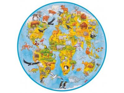Goki Puzzle XXL, Svět, 49 dílů