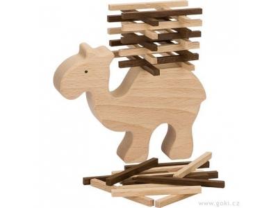 Goki Dovednostní a balanční hra velbloud, 60 dílů