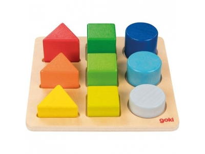 Goki Třídíme tvary a barvy, 9 dílů