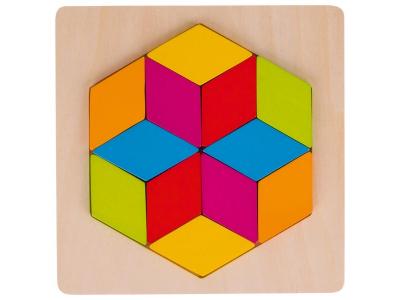 Goki Puzzle - Šestiúhelník, 12 dílů