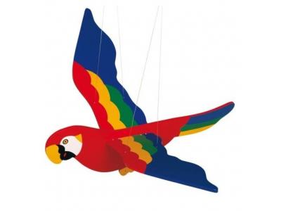 Goki Dřevěný létající papoušek