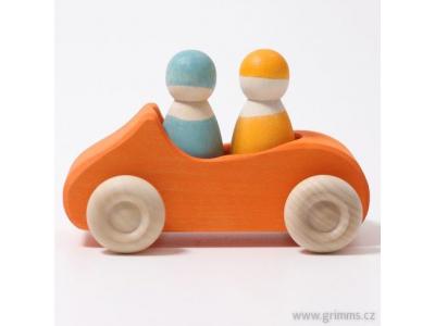 Grimm´s Velký kabriolet - oranžový