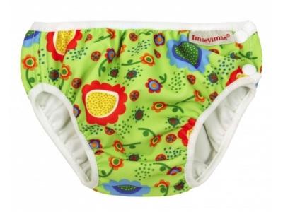 Imse Vimse Kojenecké plavky - Zelené květy