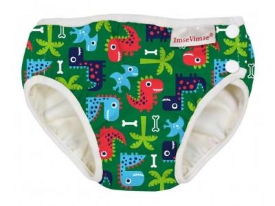 Imse Vimse Plenkové plavky - Dinosauři zelení