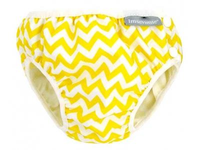 Imse Vimse Kojenecké plavky - Cik Cak žlutý
