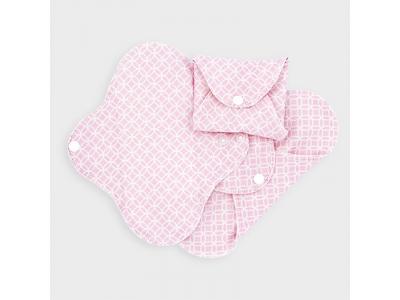 Imse Vimse Dámské hygienické vložky SLIM slipové 3ks - růžové