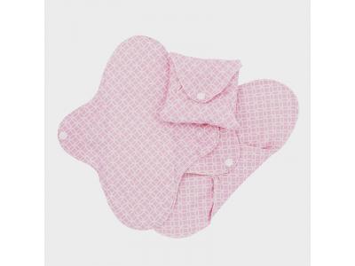 Imse Vimse Dámské hygienické vložky SLIM denní 3ks - růžové