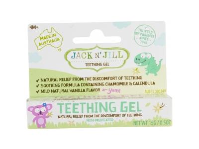Jack N´ Jill Gel na prořezávající se zoubky