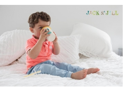 Jack n´Jill  Víčko na pohárek - růžové
