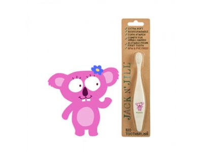 Jack n´Jill BIO zubní kartáček pro děti ultra soft - Koala