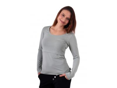 Jožánek Kojicí tričko KATEŘINA, dlouhý rukáv, olivové