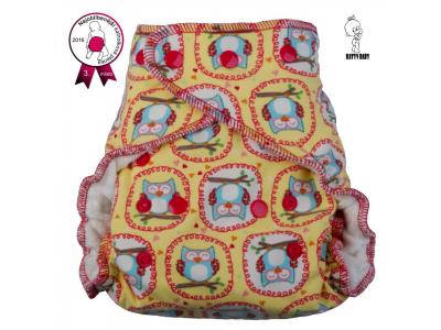 Katyv Baby Denní kalhotková plena na patentky - soví stráž