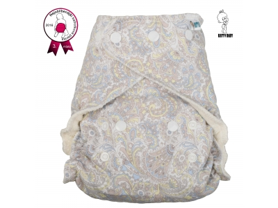 Katyv Baby Denní kalhotková plena na patentky - Něžné kvítí