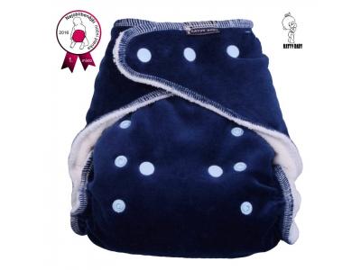 Katyv Baby Noční kalhotková plena na patentky - tmavě modrá