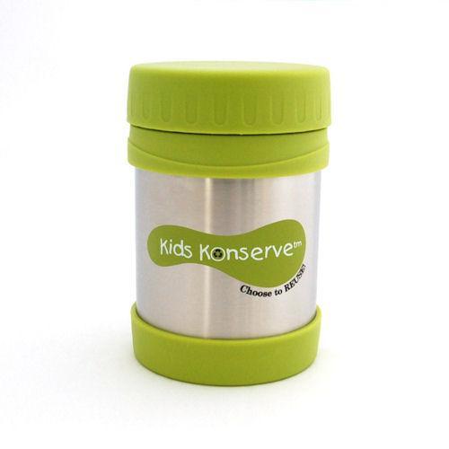U Konserve Dětská termoska na jídlo 350 ml - zelená - Eco Capart 851821e72af