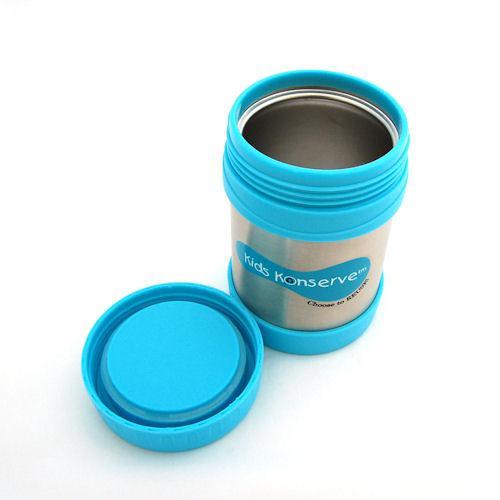 U Konserve Dětská termoska na jídlo 350 ml - Sky (tyrkysová) - Eco ... f206941ba81