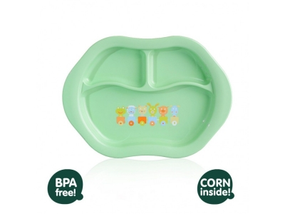 KIKKO Ekologické nádobí New Generation - dělený talířek