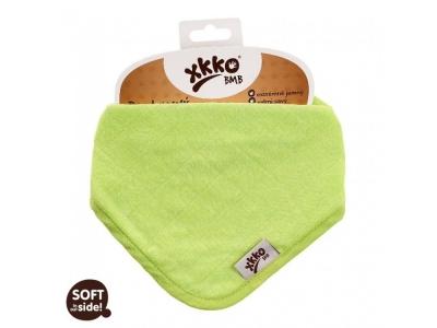 Kikko Dětský bambusový slintáček/šátek - Lime