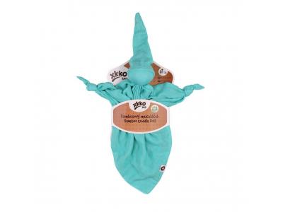 KIKKO Bambusový muchláček XKKO BMB - Turquoise