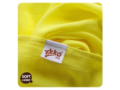 KIKKO Bambusová osuška XKKO BMB 90x100 - Lemon