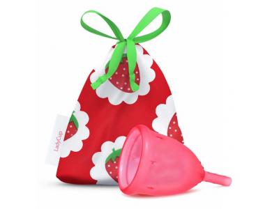 LadyCup Menstruační kalíšek - Sladká jahoda