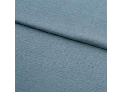 Úplet French Terry z BIO bavlny - modrošedá