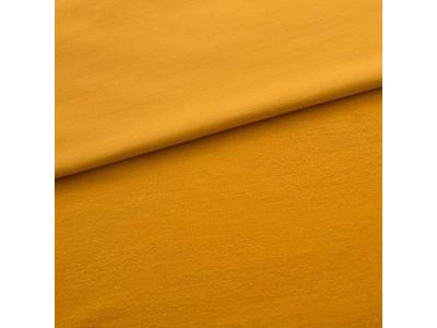 Úplet Teplákovina z BIO bavlny - hořčice