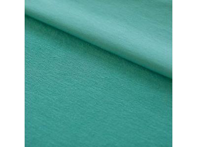 Úplet Teplákovina z BIO bavlny - mint