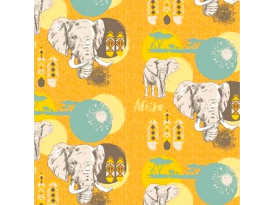 Úplet z BIO bavlny - Afrika