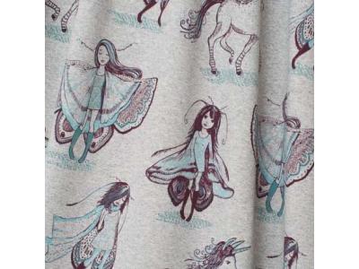 Úplet z BIO bavlny - Víly motýlice