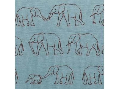 Úplet z BIO bavlny - Sloní průvod