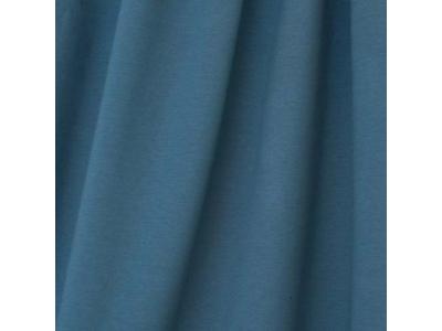 Úplet Teplákovina z BIO bavlny - kouřová modrá