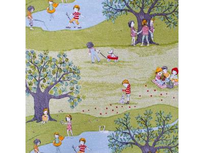 Úplet z BIO bavlny - Roční období - léto