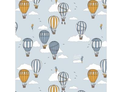 Úplet z BIO bavlny - Horkovzdušné balóny