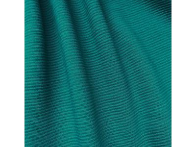 Žebrovaný Sweat z BIO bavlny - petrolej