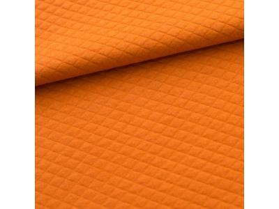 Prošev z úpletu z BIO bavlny - pomeranč & skořice
