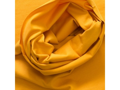 Náplet z BIO bavlny, tunel - hořčice