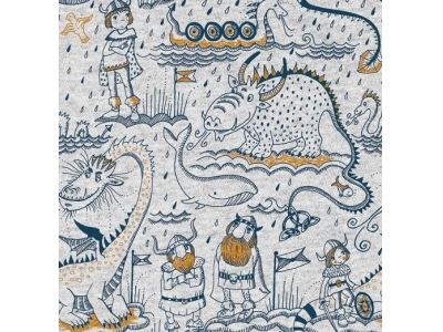 Úplet z BIO bavlny - Vikingové